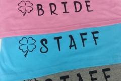Bride/staff